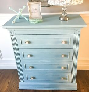 Gorgeous Refinished Children's Dresser
