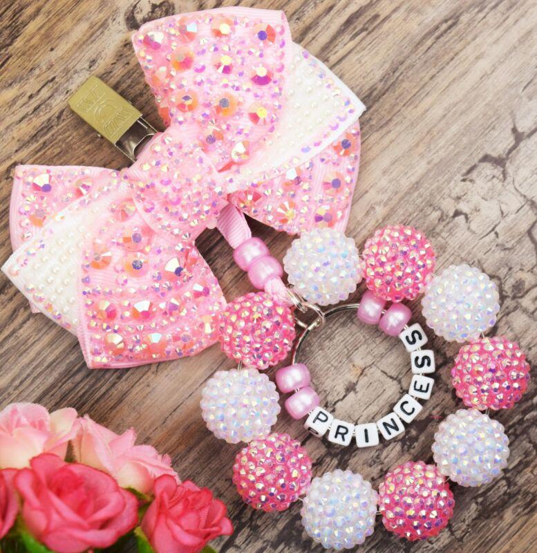 Personalised stunning pram charm in baby pink baby boys girls