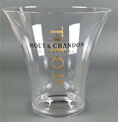 Moet & Chandon Champagner Flaschenkühler Eisbox Kühler Transparent Acryl (663)