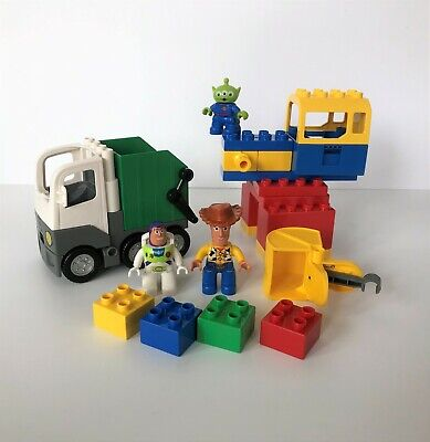 Lego Duplo 5691 Space Crane – 19 Pieces – 3 Minifigs – Toy Story 3