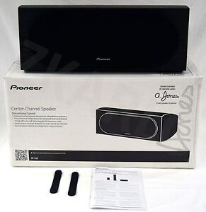NEW Pioneer SP-C22 Andrew Jones Design BLACK Curved Center Channel Home Speaker