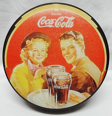 Blechdose Coca Cola Nostalgie Dose Durchmesser ca. 13 cm Höhe ca. 5 cm TOP