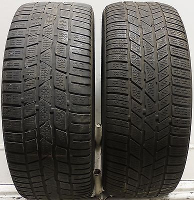 2 2255018 Continental TS830P 225 50 18 Used Part Worn Tyres x2 MS Winter Snow