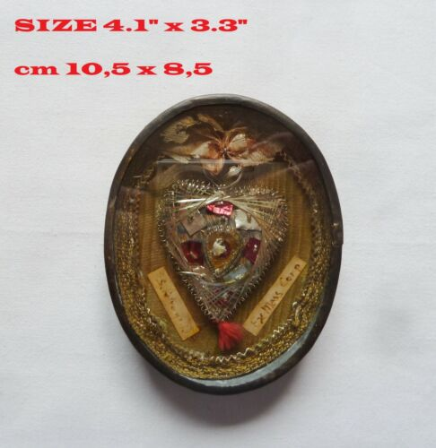 """RELIQUARY RELIC 1 st CLASS ST. PETRONILLA """" DAUGHTER """" OF ST. PETER RELICARIO"""