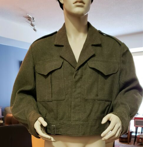 World War 2 - Canadian/British Battle Dress Blouse/Tunic 1941 (T. Eaton Co.)