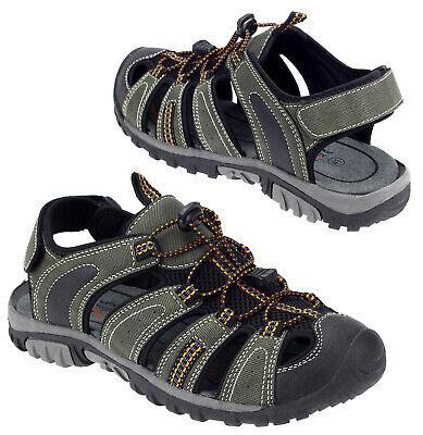Damen Herren Trekking Sandalen Sneaker Outdoorschuhe Sommer Schuhe Khaki 16998