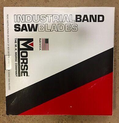 Mk Morse 93 X 34 Bandsaw Blade Carbon Metal 14 Tpi Medium For Metalworking