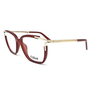 CHLOE Eyeglasses CE2689 223 Burnt Rectangle Women 53x16x140