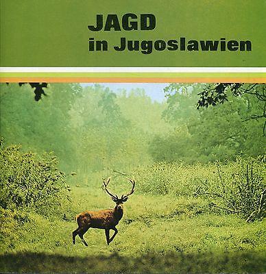Alter Reiseprospekt: JAGD IN JUGOSLAWIEN (ca. 1980)