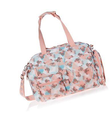 Disney Print Satchel Diaper Bag, Minnie Mouse Icon