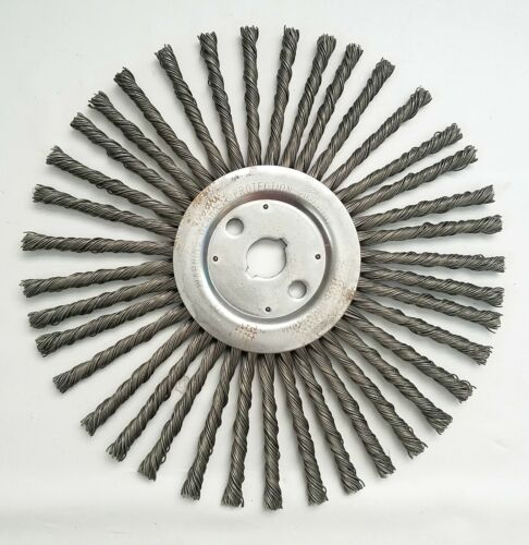 "Weiler 12"" Cable Twist Wire Wheel  - 1 Each"