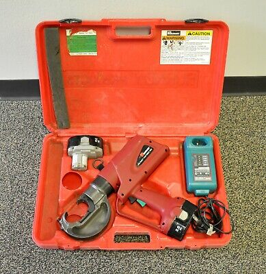 Burndy Patriot Pat750xt-18v Battery Powered Hydraulic Cable Wire Cutter Tool