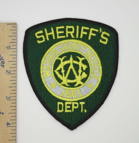 WASHOE COUNTY NEVADA SHERIFF