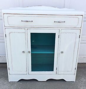 Gorgeous Refinished Vintage Cabinet/ Entryway/ Hallway Storage