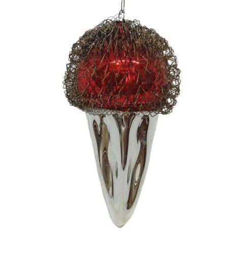 Wire wrapped ornament, ca. 1930  (# 14449)