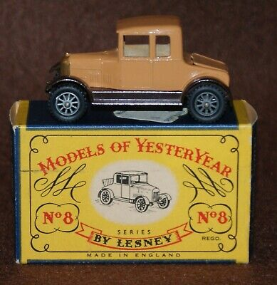 Matchbox Models of Yesteryear 1926 Morris Cowley Bullnose MOY Y8-1 Issue 3 C Box