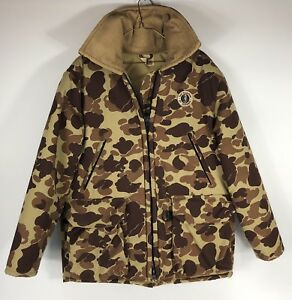 Mustang Floater coat Mens Large Camouflage NEW