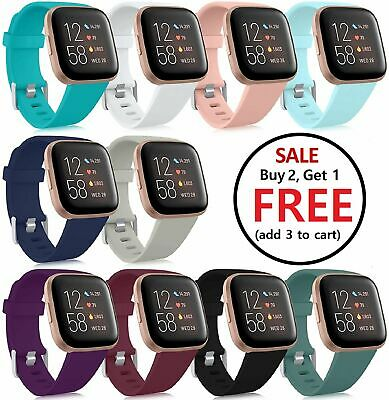 Replacement Silicone Rubber Band Strap Wristband For Fitbit Versa 1 2 Lite Watch Jewelry & Watches