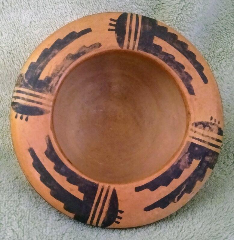 Antique Wonderful Old Hopi Pottery Bowl