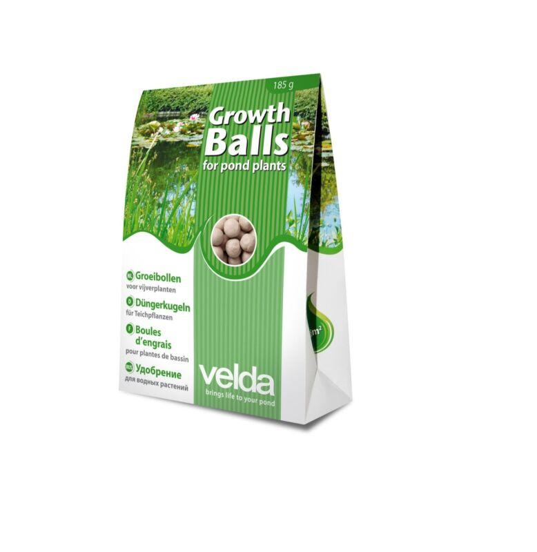 Velda Pond Plant Growth Balls, Aquatic Water Garden Plant Fertilizer Balls