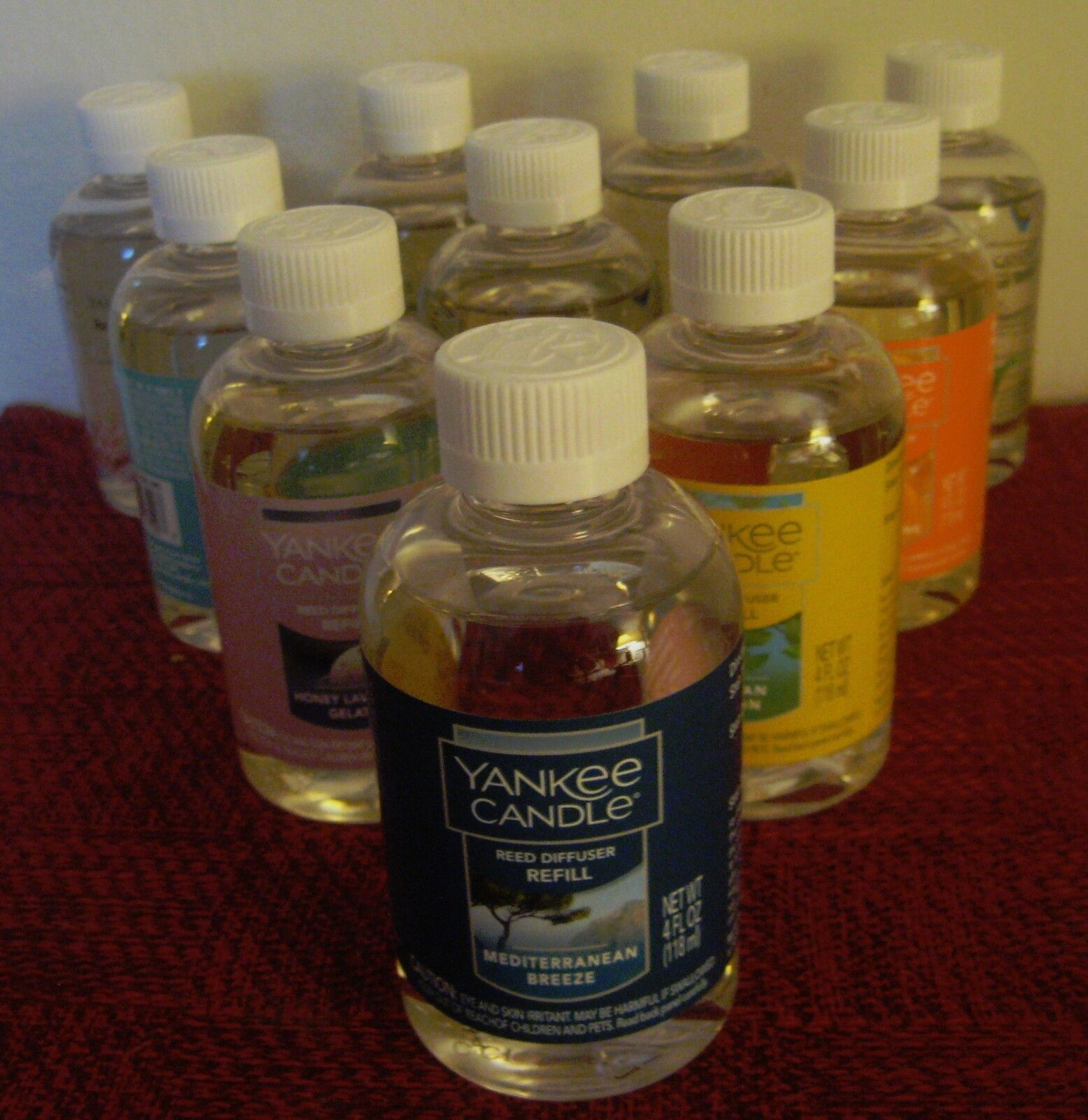 Yankee Candle Reed Diffuser Oil Refills - 4 oz Refill  - You Choose - Free Ship+