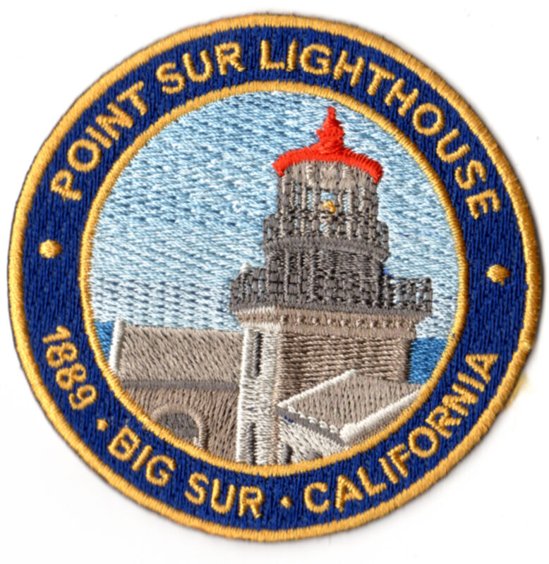 """Point Sur Lighthouse State Historic Park 3"""" Patch - CA State Parks"""