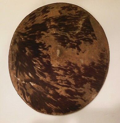 Shield of Combat or Parade Wooden and Skin Middle of XIX ° Th, Madagascar