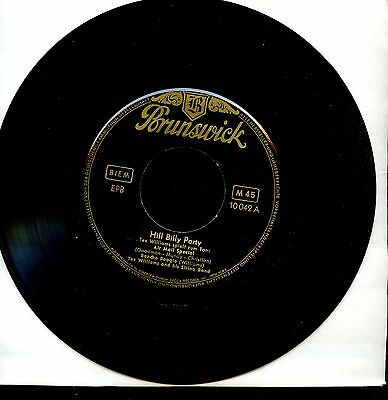 7inch TEX WILLIAMS and his string band HILL BILLY PARTY german