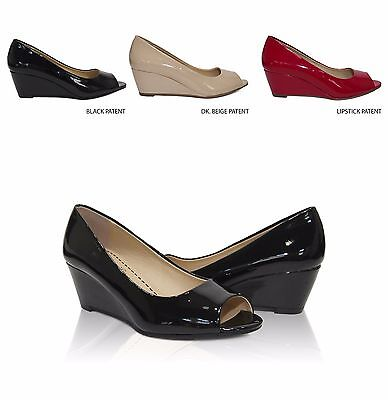 City Classified Comfort Morgan Women's Simple Peep Toe Slip