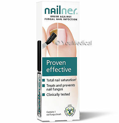 Nailner Brush 5ml - Nail Fungus Anti Fungal Nail Infection Treatment