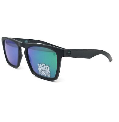 DRAGON Sunglasses DRAC H2O 008 Matte Black Modified Rectangle Men (H2o Sunglasses)