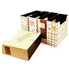 DIY-Paper-Board-Storage-Box-Desk-Decor-Organizer-Stationery-MakeUp-Cosmetic