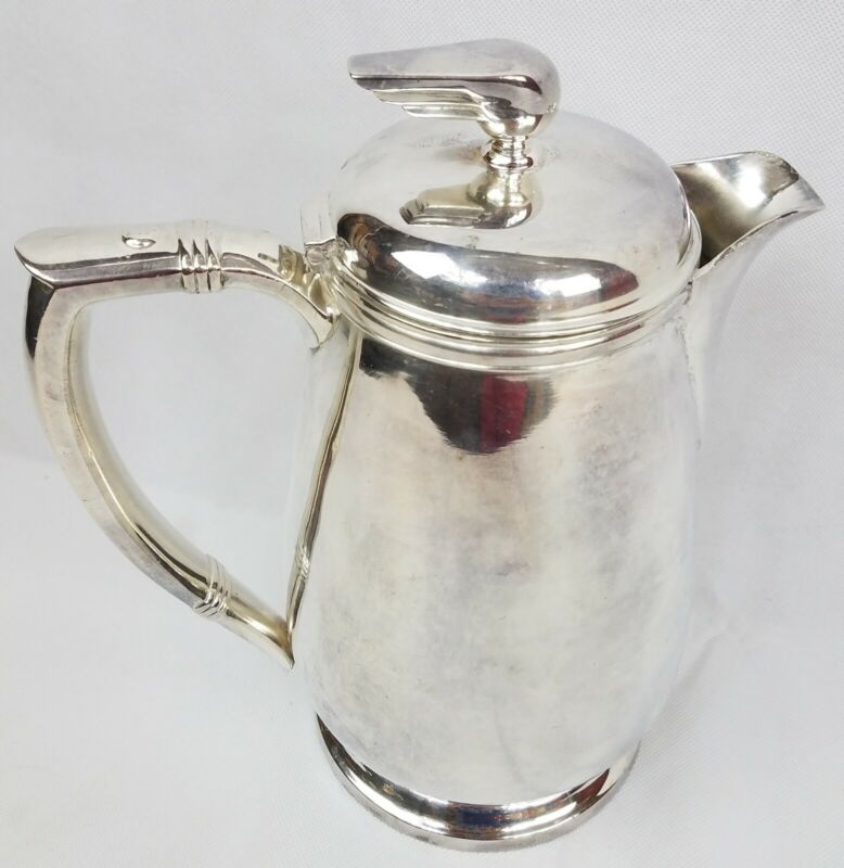 """Union Pacific Railroad Streamliner Coffee Tea Pot 10"""" UPRR 64oz Int Silver Rare"""
