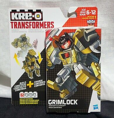 Transformers Kre-O Grimlock Kreon Battle Changer Convertible Toy Figure