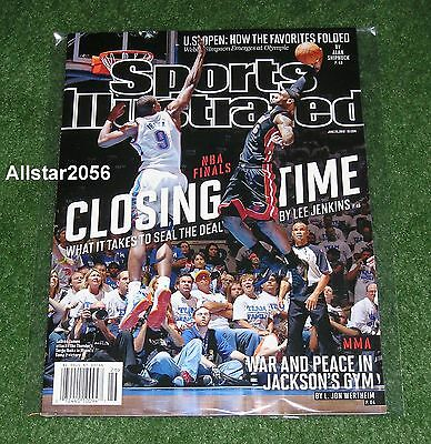 2012 LEBRON JAMES~MIAMI HEAT~SPORTS ILLUSTRATED~ NBA FINALS MVP~NBA (Lebron James 2012 Finals Mvp Miami Heat Champions)