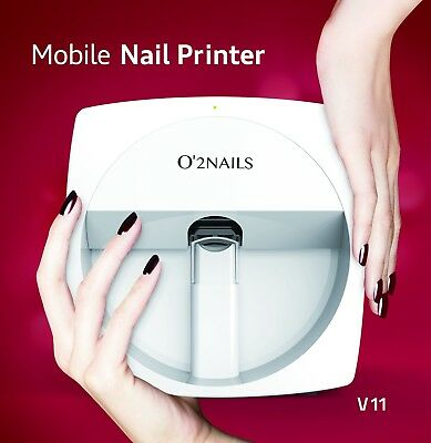 O2NAILS Professional Nail art Printer, used for sale  Shipping to Canada