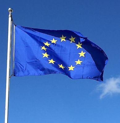 5ftx 3ft European Union Flag EU Europe Euro Blue Star