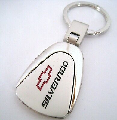 SILVERADO KEY CHAIN RING FOB FORD PICK UP TRUCK CHEVY CHEVROLET 2018 2019 NEW