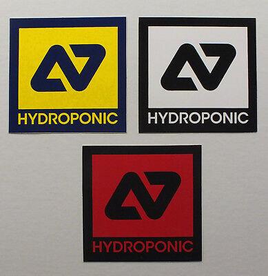 Hydroponic Skateboard Longboard 3 Aufkleber Sticker (S35)