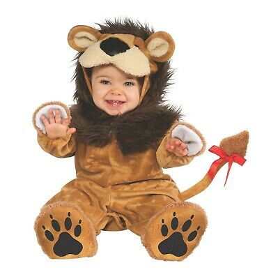 Baby Halloween Costumes Lil Lion (Lion Costume Lil Lion Infant Halloween Costume Dress Up Size)