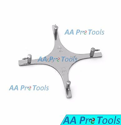 Aa Pro Bracket Positioning Boone Star Gauge Ortho Dental Stainless Steel