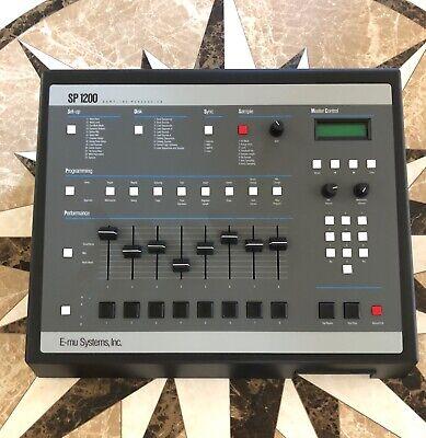 EMU SP-1200 Sampler ** MINT** Drum Machine