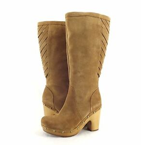 Cool UGG Tan Womens Anais Ankle Boot