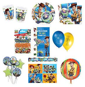 Disney-TOY-STORY-3-gamma-festa-compleanno-Articoli-per-la-tavola-Palloncini-amp