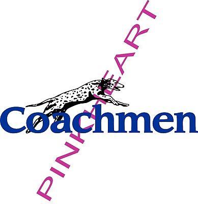 Coachmen Decals LARGE dog  RV sticker graphics trailer camper rv coachman US
