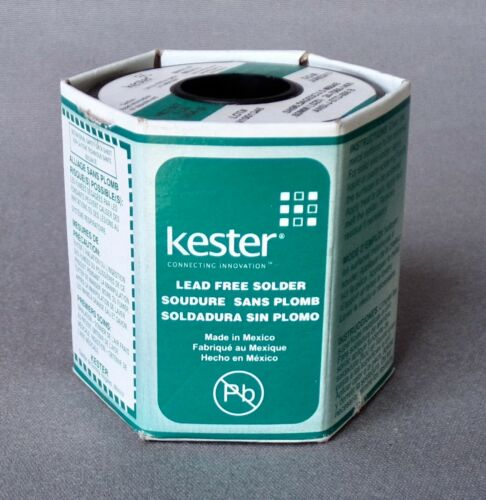 Solder Kester SN96.5AG03CU.5  #66/48 - 0.6 mm dia -  2470681406 - 454gm roll
