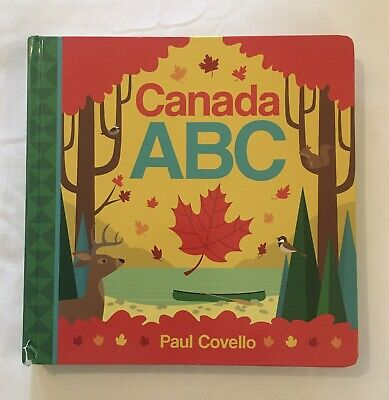 Canada ABC - Alphabet Learning Book About Canada