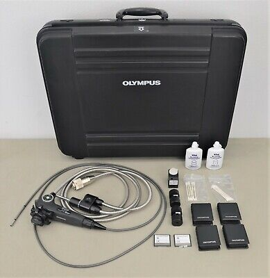 Olympus Iv6c6-20 Borescope Tapered Flex Videoscope Fiberscope W Case Accs