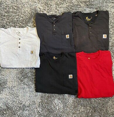 Carhartt Bundle Lot of 5 Size XL Vintage Workwear Wip Heron Preston