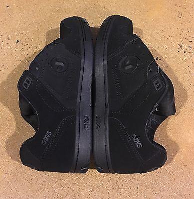 DVS Discord Size 9 US Deegan Black Nubuck Havoc Militia BMX DC Skate Shoes ()